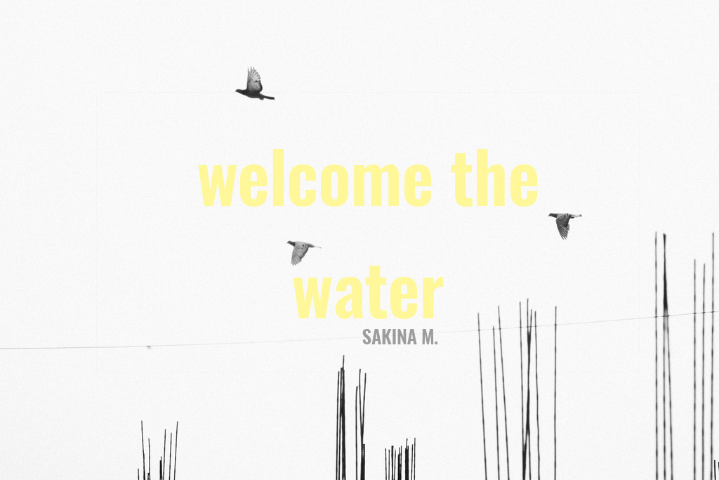 WELCOME THE WATER