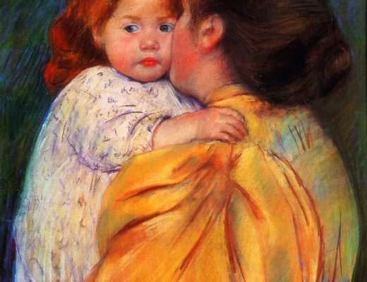 Cassatt_Mary_Maternal_Kiss_1896